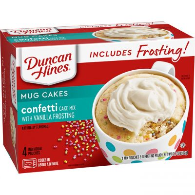 Confetti Cake with Vanilla Frosting