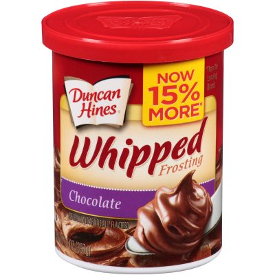 Duncan Hines® Chocolate Whipped Frosting 14 oz. Canister