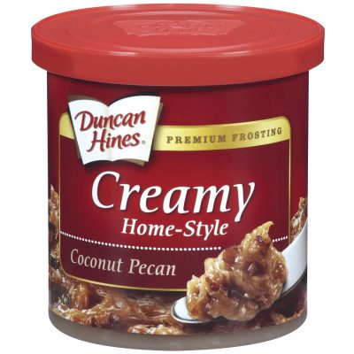 Duncan Hines® Coconut Pecan Creamy Home-Style Frosting 15 oz. Canister