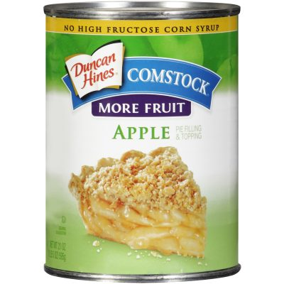 Duncan Hines® Comstock®  More Fruit Apple Pie Filling & Topping 21 oz.