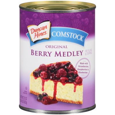 Duncan Hines® Comstock® Original Berry Medley Pie Filling & Topping 22 oz. Can