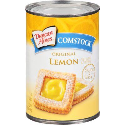 Duncan Hines® Comstock® Original Lemon Pie Filling & Topping 15.75 oz. Can