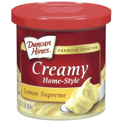 Duncan Hines® Lemon Supreme Creamy Home-Style Frosting 16 oz. Canister