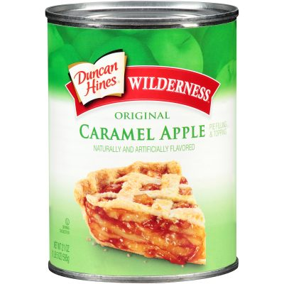 Duncan Hines® Wilderness® Original Caramel Apple Pie Filling & Topping 21 oz. Can