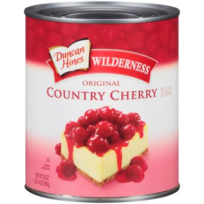 Duncan Hines® Wilderness® Original Country Cherry Pie Filling & Topping 30 oz. Can