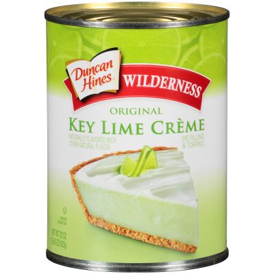 Duncan Hines® Wilderness® Original Key Lime Creme Pie Filling & Topping 22 oz. Can