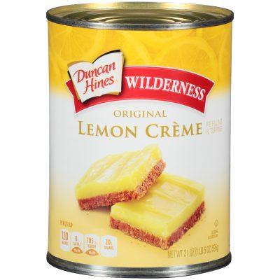 Duncan Hines® Wilderness® Original Lemon Creme Pie Filling & Topping 21 oz. Can