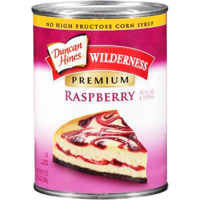 Duncan Hines® Wilderness® Premium Raspberry Pie Filling & Topping 21 oz. Can