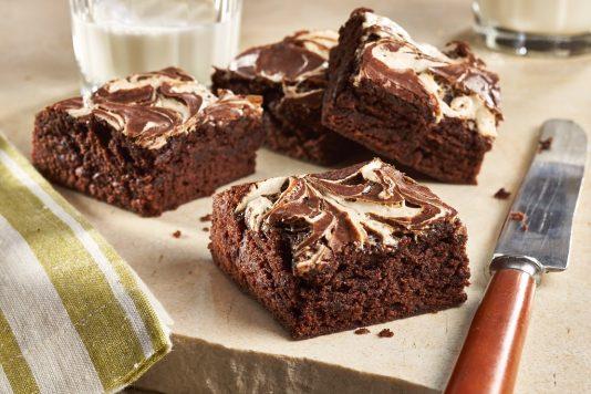 Amaretto Marshmallow Brownies