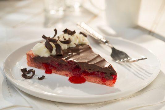 Strawberry Shortcake Chocolate Tart
