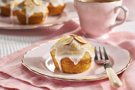 Lemon Almond Tea Cakes