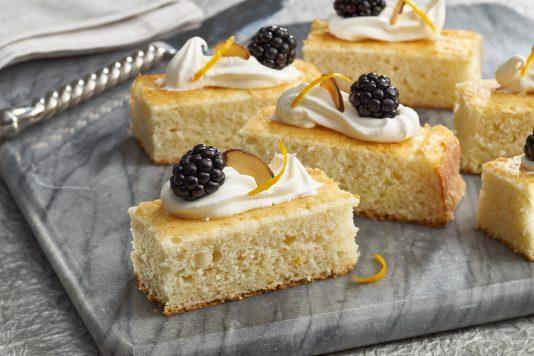 Orange & Almond Sponge Cakes