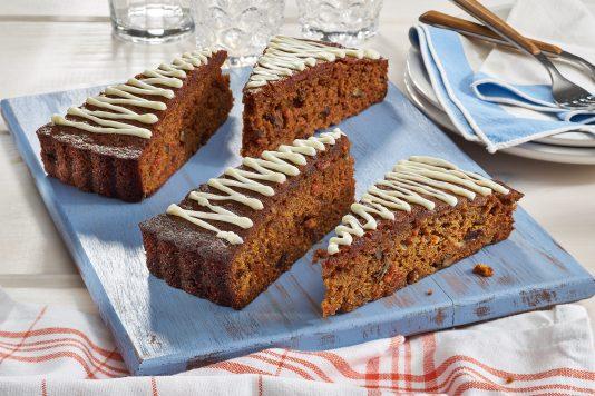 White Chocolate Carrot Cake Tart