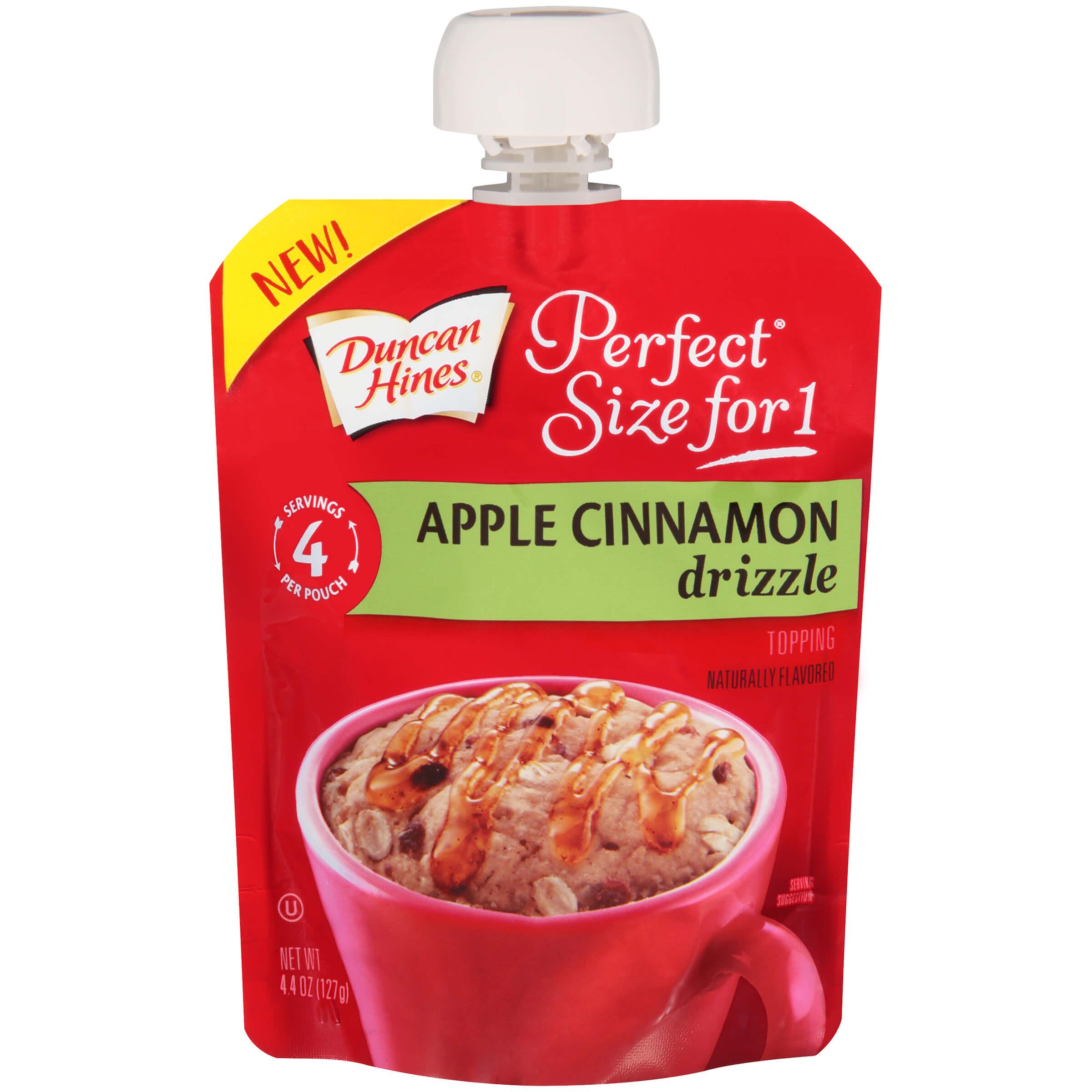 Apple Cinnamon Drizzle