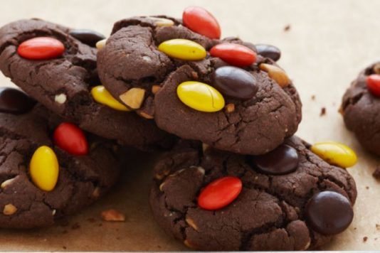 Chunky Peanut Butter Brownie Cookies
